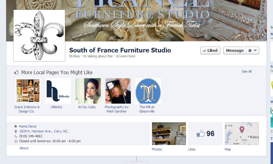 Facebook Feature - More Local Pages You Might Like