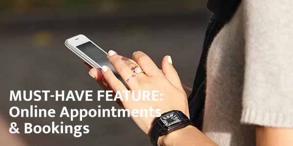 Online appointment setting website design - Raleighwood Media