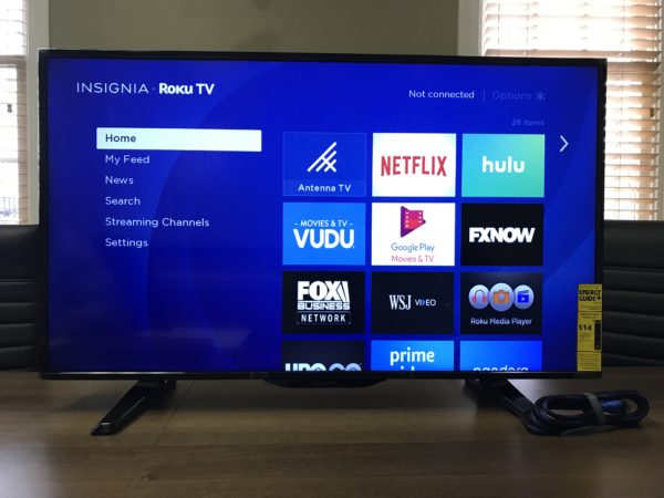"40"" Monitor for Rent HDMI Raleigh"
