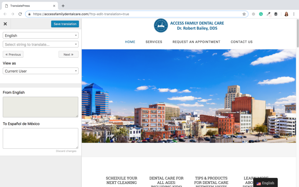 Creating a Multi-Language Site