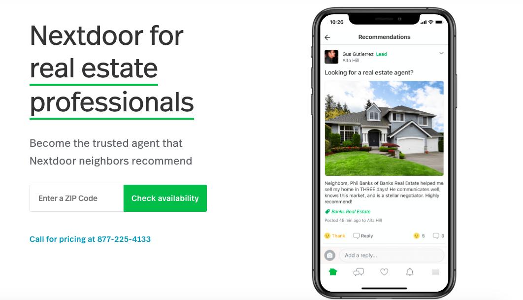 Guide to Nextdoor Real Estate
